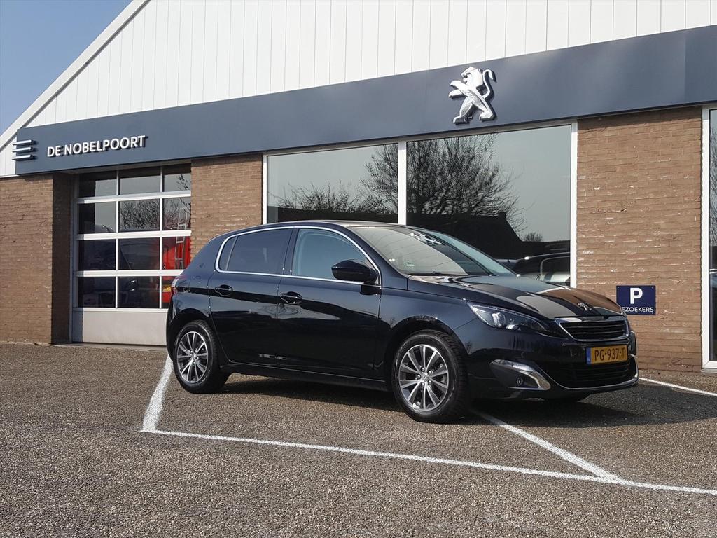 Peugeot 308 1.2 puretech 130pk blue lease premium navi/panodak/climate/bluet