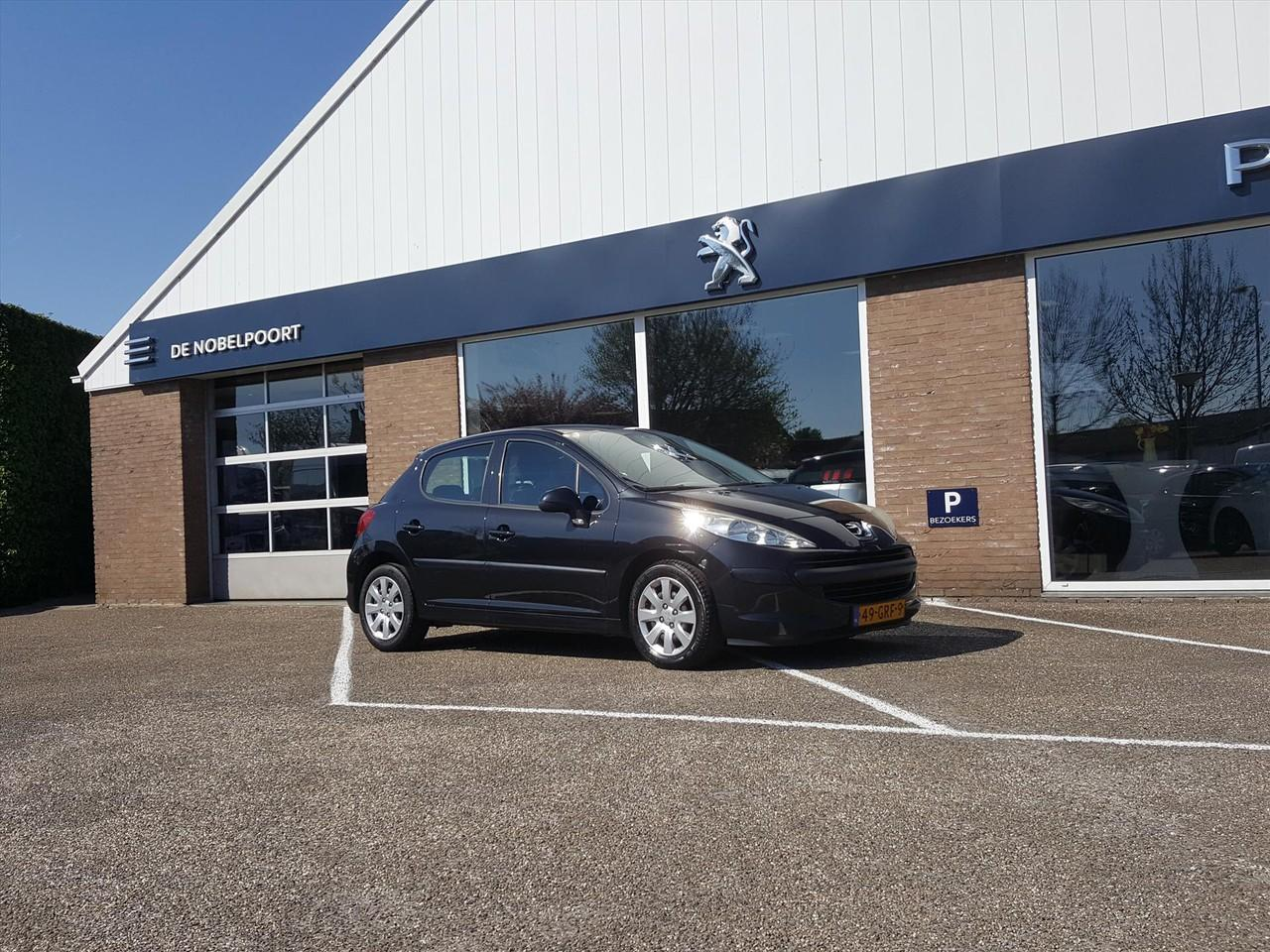 Peugeot 207 Cool'nblue 5d 1.6hdif-92pk airco bluetooth, cd en cruise control