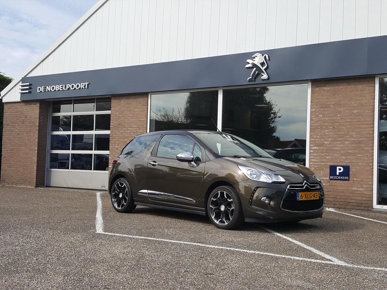 Citroën Ds3 1.6turbo-155pk sport chic el.vouwdak,cabrio,afn.trekhaak,climat