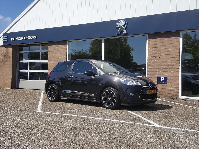 Citroën Ds3 1.6 turbo-155pk sport chic navigatie&bluetooth&lmv17