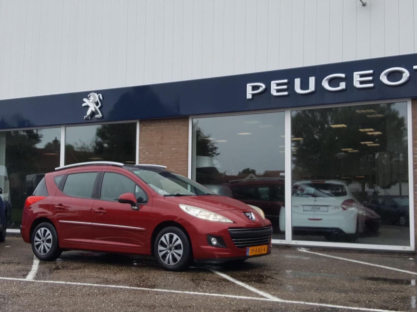 Peugeot 207 1.6 hdif 16v 80kw sw cruise/climate control trekhaak
