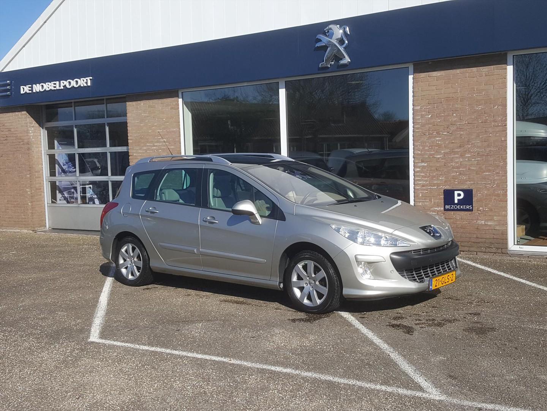Peugeot 308 1.6 vti 16v sw 5p leder trekhaak pano-dak cruise&climate control