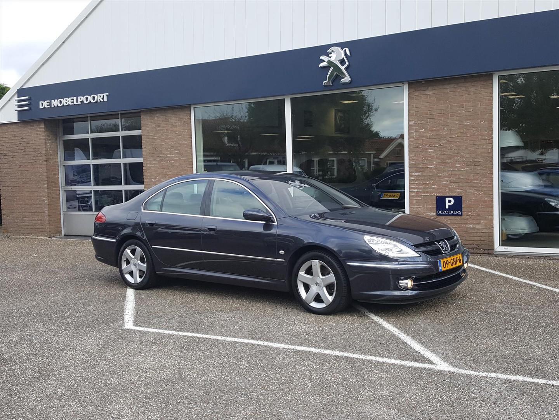 Peugeot 607 V6 2.7 hdif executive automaat navi leer reservewiel el. koffer