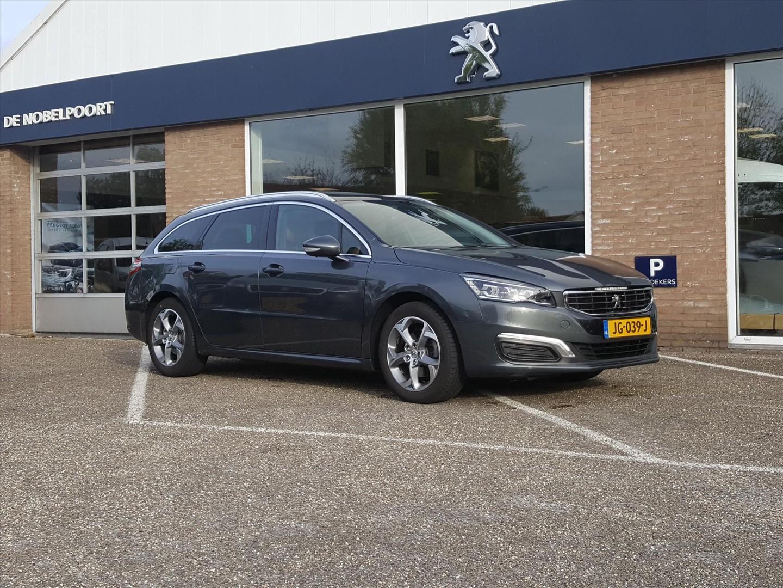 Peugeot 508 Sw blue l.executive volautomaat 6t met leer, navigatie, parkhulp&climate control,panoramadak