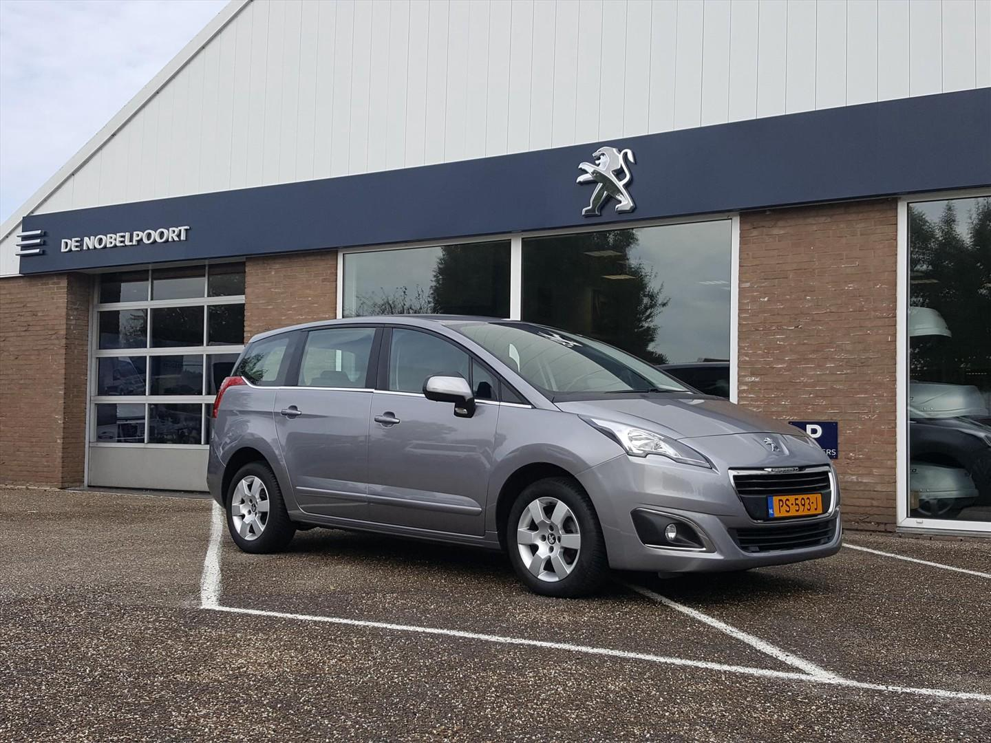 Peugeot 5008 1.6 hdif 7persoons cruise&climate control navi bt lm-velg