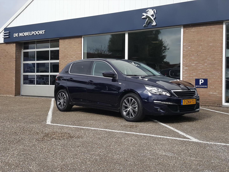 Peugeot 308 Style 1.2puretech-130pk navi&bluetooth, parkeersensoren climate cd-speler