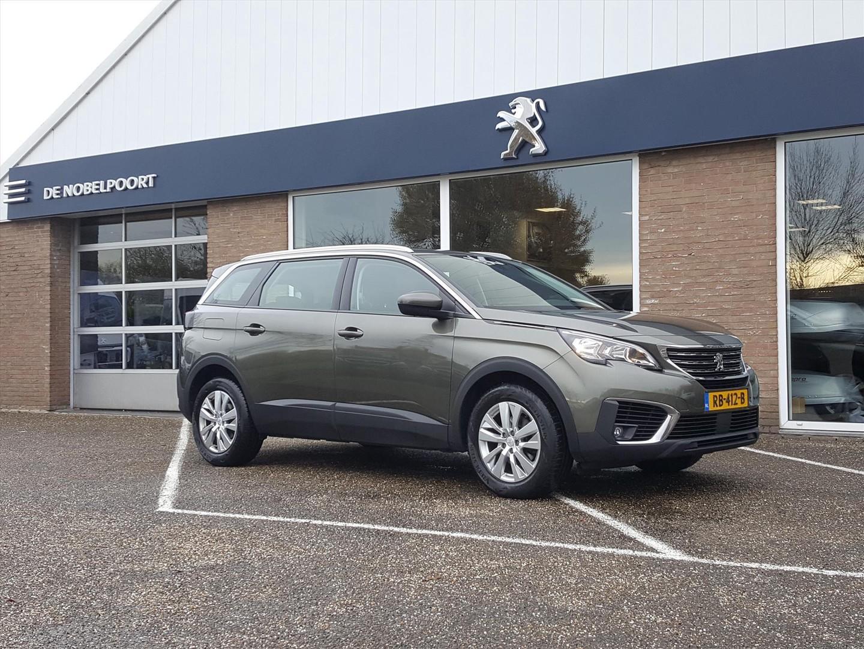 Peugeot 5008 Bl.executive 1.2pt-130pk 7persoons navi-eu-tomtom climate blt/applecarplay/androidauto-mirrorlink cruise control