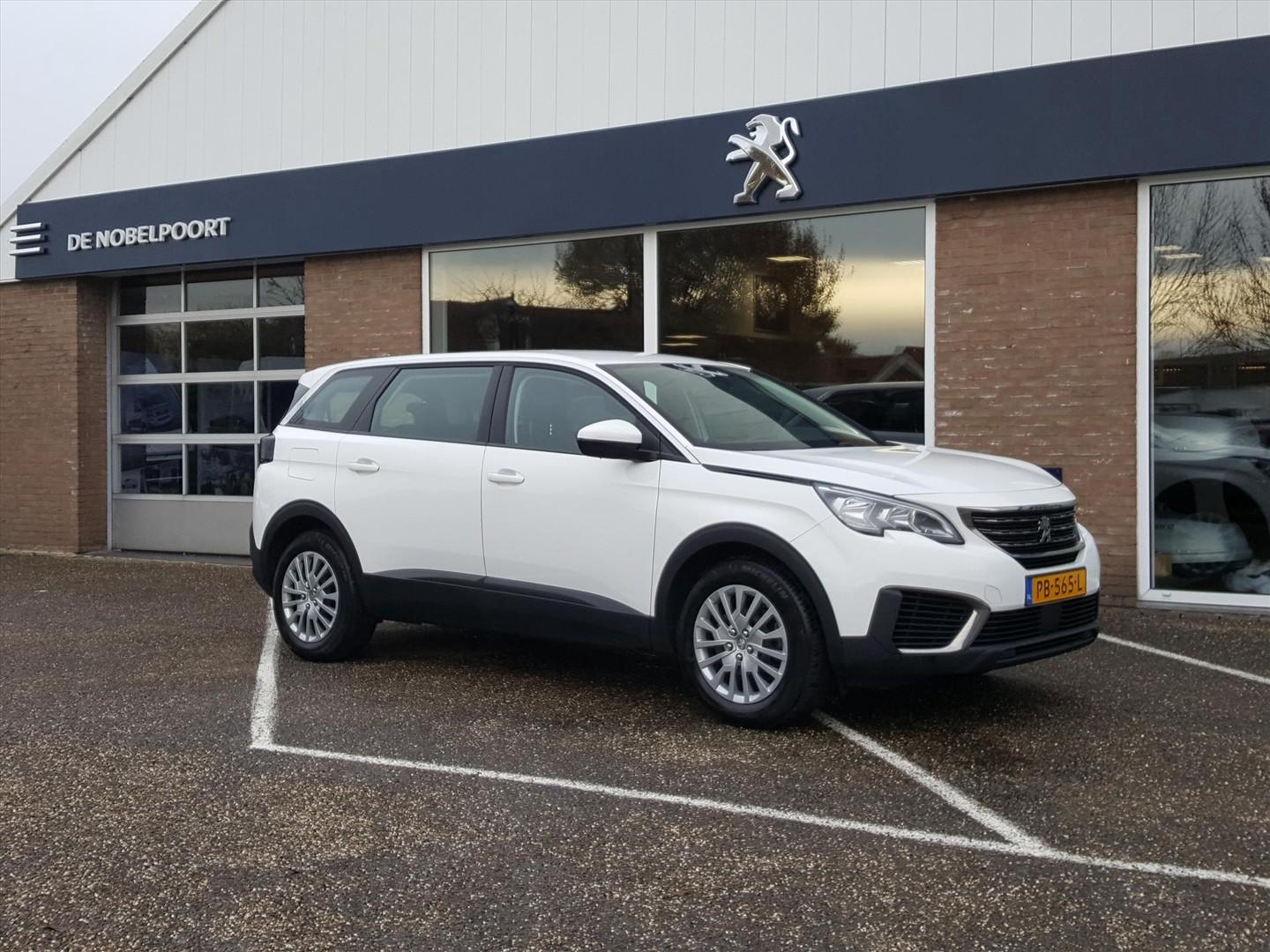 Peugeot 5008 1.2 puretech 130pk s&s access 7persoons airco cruise control phulp trekhaak bt