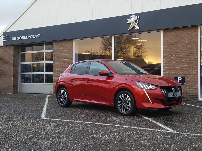 Peugeot 208 new 1.2 pt-100pk allure met full-led,navi10inch,camera