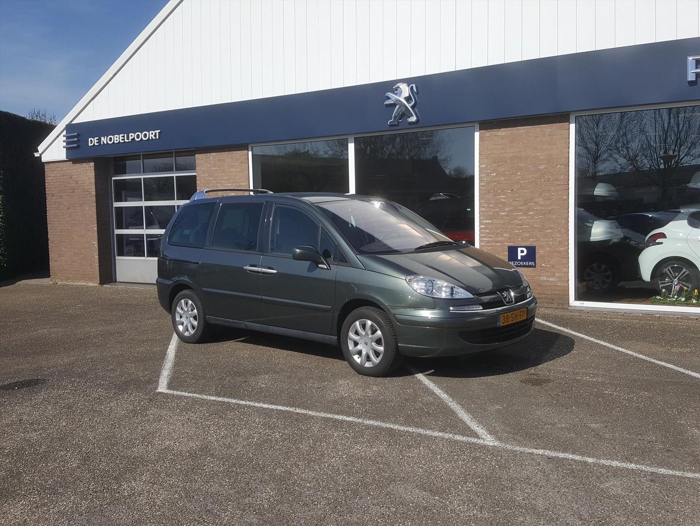 Peugeot 807 2.0 norwest 16v 7personen cruise-en climate control navi lm-velgen bt reservewiel
