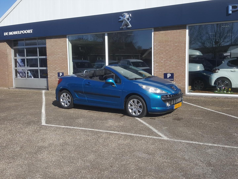 Peugeot 207 Cabrio 1.6-16v 88kw première grip control airco cruise control lm-velgen lage kilometerstand