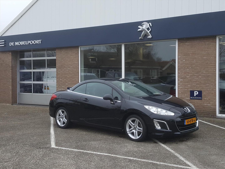 Peugeot 308 Griffe 1.6turbo156pk zwart leer cruise- en climate control bt lm-velgen windscherm