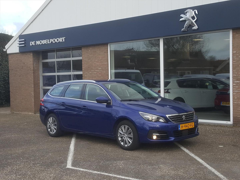 Peugeot 308 Sw allure 1.2 puretech 130pk volautomaat eat8 navi&bluetooth,parkhulp v/a,climate,4seasons banden
