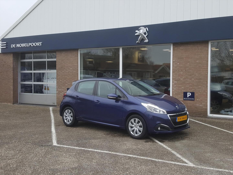Peugeot 208 1.2 puretech 82pk 5d blue lion airco navigatie bluetooth cruise control parkeersensoren