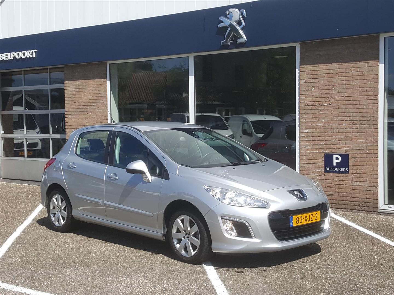 Peugeot 308 1.6vti 120pk 5d blue l. exec. navi cr.&cl.control parkeersensoren trekhaak