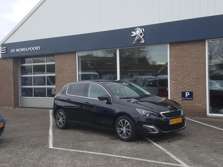 Peugeot 308 1.2 puretech 130pk s&s blue lease premium navi climate & cruise control parkeersensoren bt lm-velgen