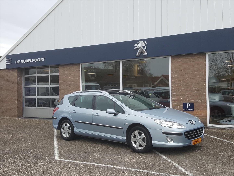 Peugeot 407 Sw xr pack 1.6hdi-115pk cruise- en climate control trekhaak bt lm-velgen