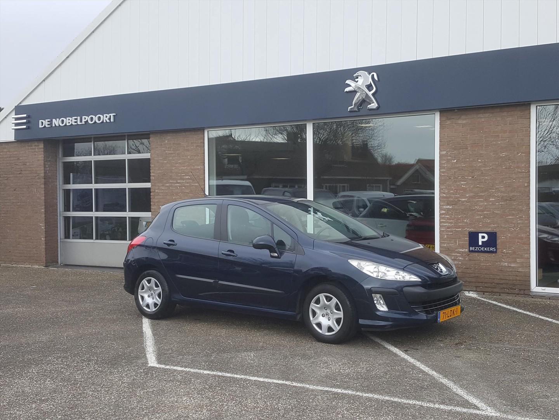 Peugeot 308 1.6 vti 16v 5-drs cruise en climate control trekhaak elektrische ramen lage km-stand!