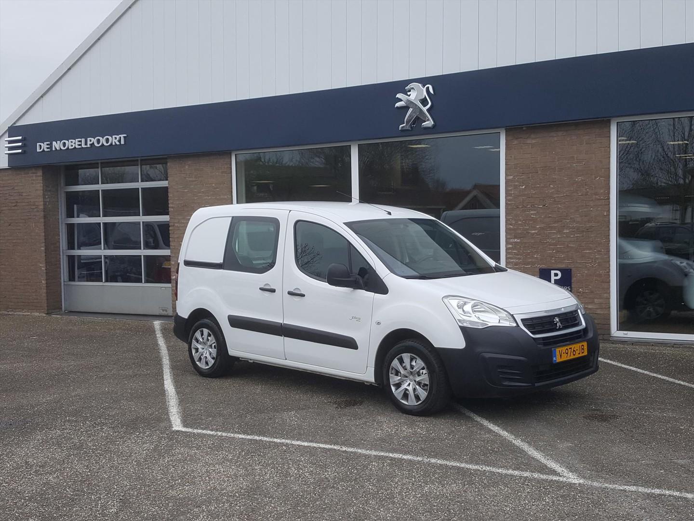 Peugeot Partner Gb 120 l1 1.6 bluehdi 75pk 2-zits premium airco radio-cd bt