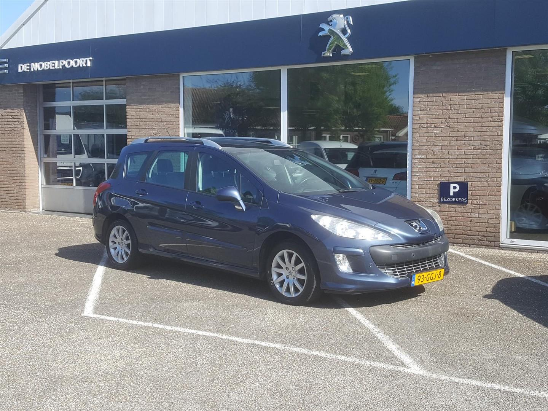 Peugeot 308 Sw 1.6 vti 16v cruise & climate control parkeersensoren voor & achter panoramadak lm-velgen