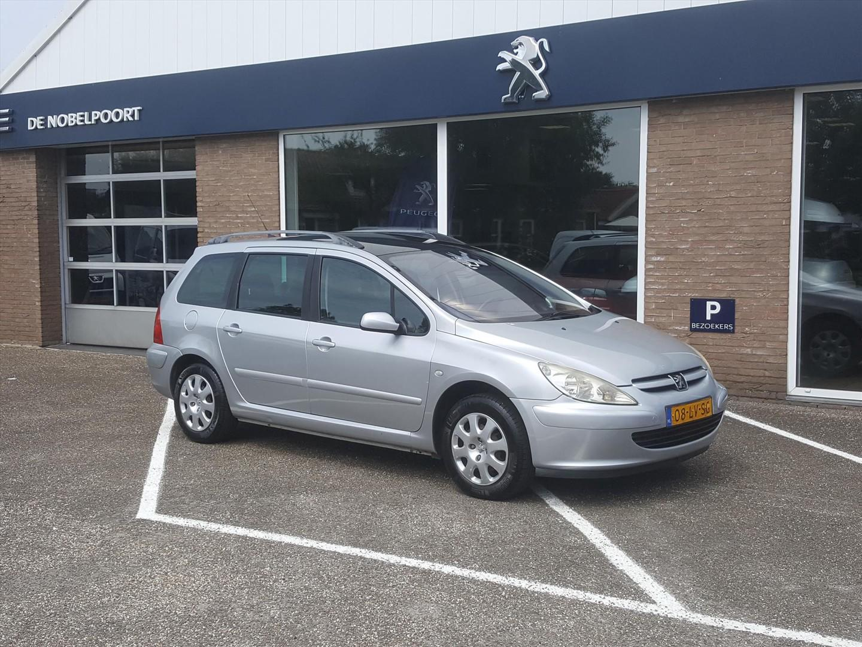 Peugeot 307 1.6 16v sw trekhaak panodak cruise & climate control