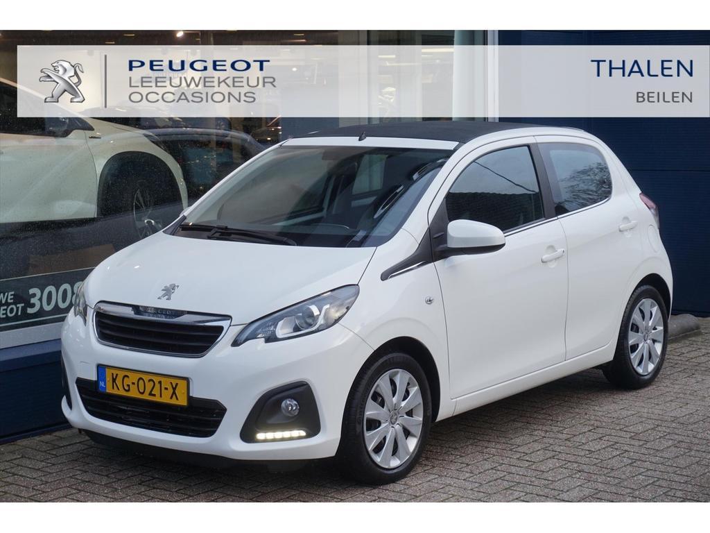Peugeot 108 Top! cabrio airco / elek. pakket / 5 deuren!