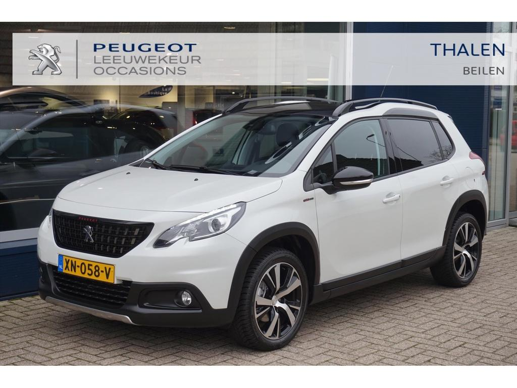 Peugeot 2008 Gt line 110 pk turbo pano/navi/17inch all weather