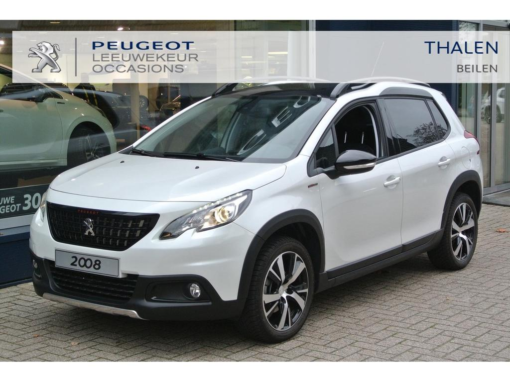Peugeot 2008 Gt line automaat 110 pk demo nw. € 34.500,-