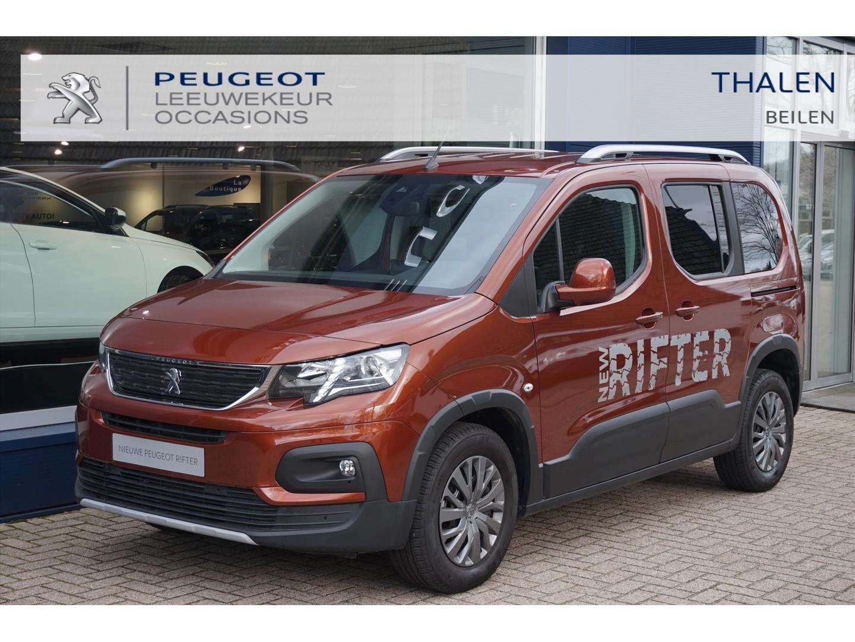 Peugeot Rifter 110pk allure - zeer complete demo van 05-2019