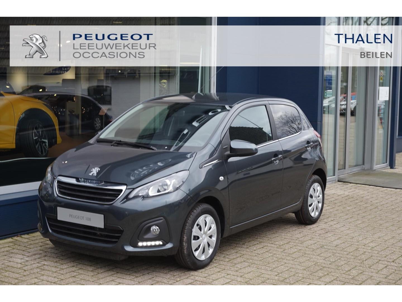 Peugeot 108 1.0 e-vti 72pk 5d active + pack dynamic & premium