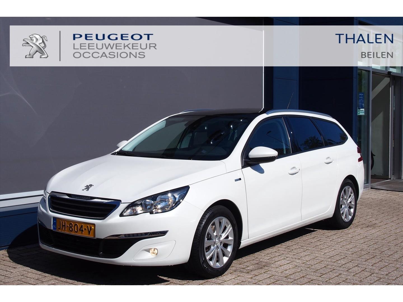 Peugeot 308 Sw style 130 pk /panorma dak/comfort stoelen/ dakrail/extra getintglas/nieuwstaat