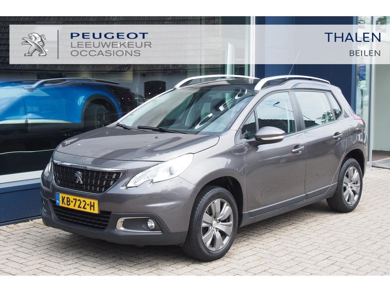 Peugeot 2008 110 pk turbo lichtmetaal/trekhaak/navigatie/ parkeerhulp etc. zeer compleet !