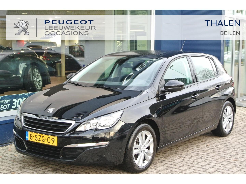 Peugeot 308 5 deurs zwart 1.6 125 pk 4 cilinder