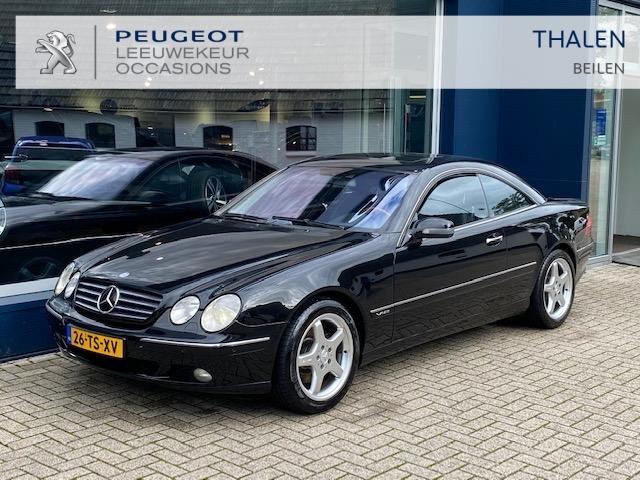 Mercedes-benz Cl-klasse 600 coupe aut youngtimer uitzonderlijk nette auto !