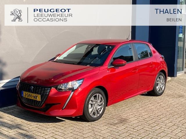 Peugeot 208 Demo 100 pk turbo lichtmetaal/pdc/stoelverwarming/1300 km/ € 4000,- voordeel