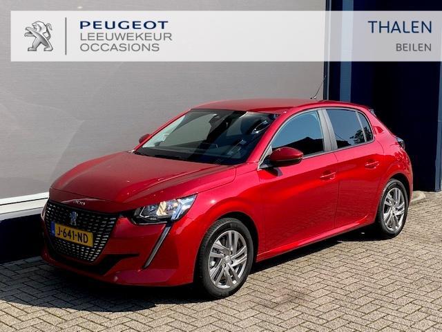 Peugeot 208 Demo 100 pk turbo camera/pdc/extra getint glas/lm velgen ruim € 4.000,- voordeel