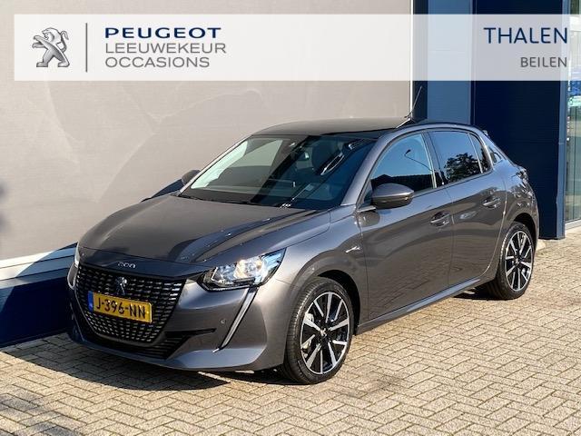 Peugeot 208 Allure 100 pk pano dak /17 inch / navigatie / stoelverwarming etc. 3200 km !!