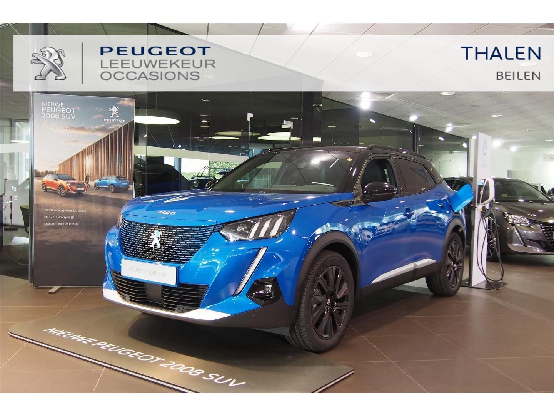 Peugeot 2008 Ev gt 136pk 8% bijtelling / schuifdak / 3 fase laden / navigatie / €2000 subside mogelijk!
