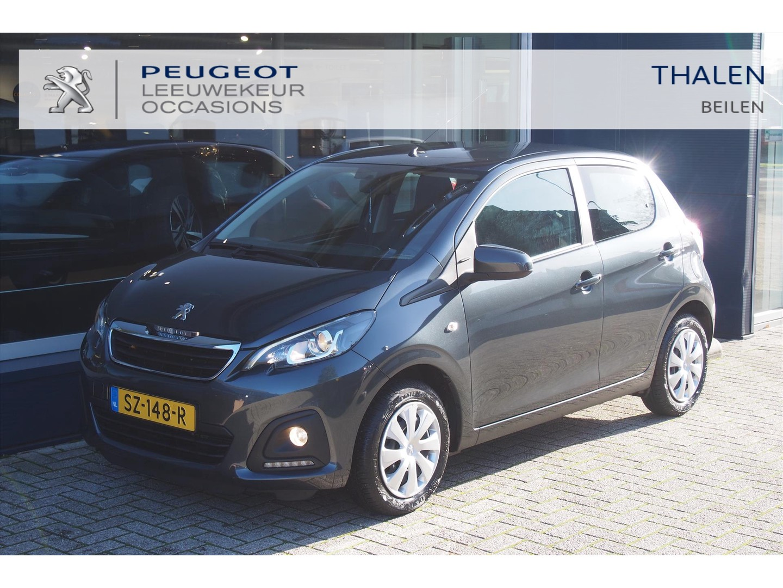 Peugeot 108 5 deuren, isofix, airco, bleu-tooth carkit, elektrische ramen