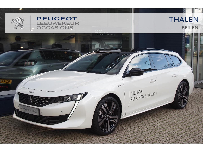 Peugeot 508 Sw gt 225pk full options - nieuwe auto - nieuwprijs ruim € 60.000,-