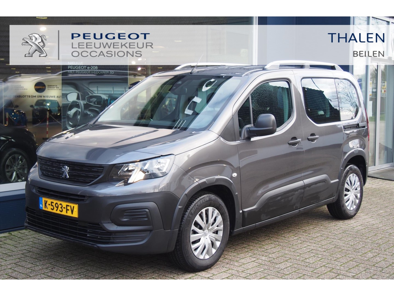Peugeot Rifter 110 pk 2x schuifdeur/dakrails/parkeersensoren/ € 7.000 demo voordeel!