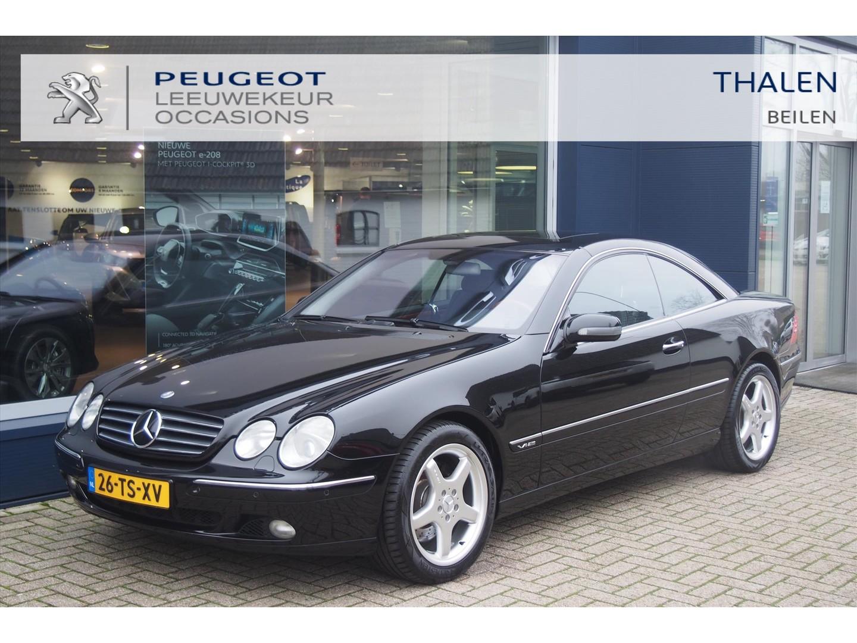 Mercedes-benz Cl-klasse 600 coupe aut youngtimer uitzonderlijk nette auto! nieuwprijs € 172.500,-! !