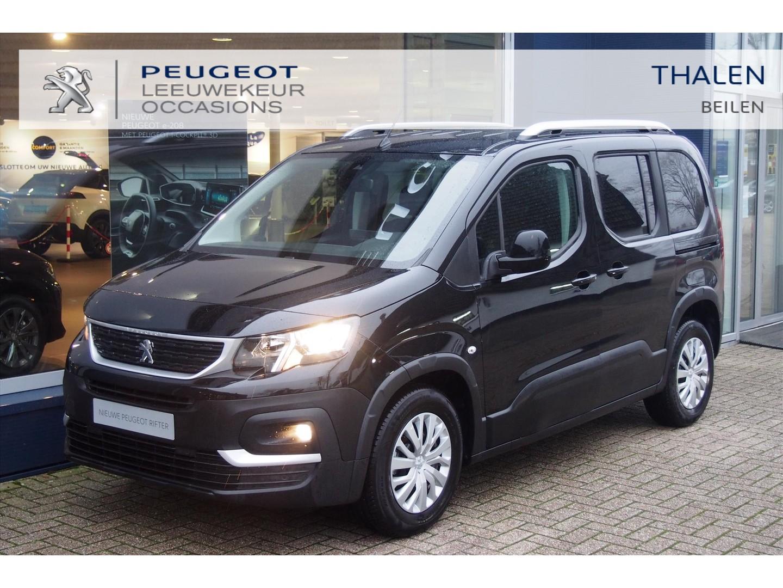 Peugeot Rifter 110 pk € 7.000,- demo voordeel navigatie / dakrail/ climate control/ camera/ parkeerhulp etc.