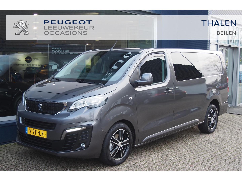 Peugeot Expert Dubbel cabine 180 pk aut. premium pack/ lm velgen/trekhaak/navigatie/camera/pdc/stoelverw/betimmering