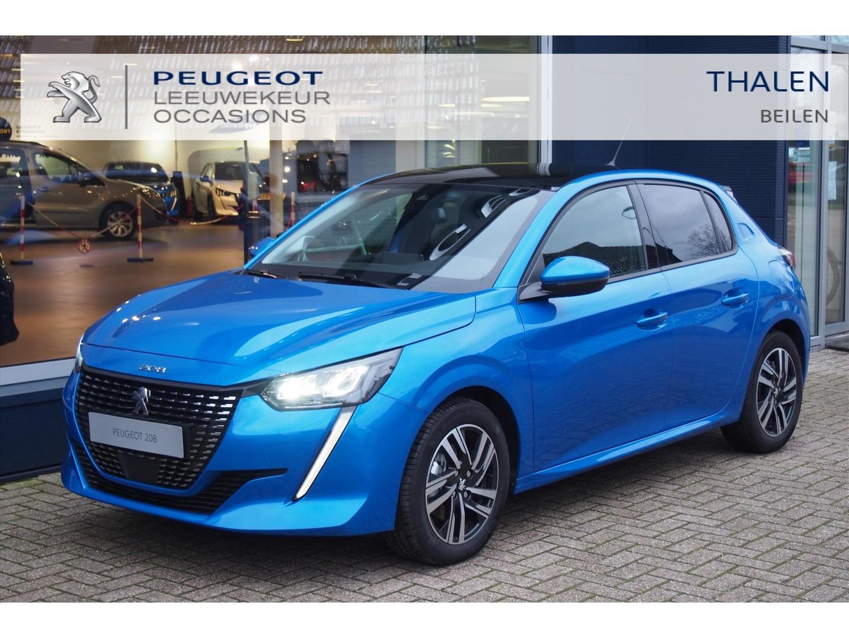 Peugeot 208 Allure 100 pk € 4.500,- demo voordeel pano dak- adaptive cruise - led verlichting - stoelverwarming - camera - dab+ 09-2020!