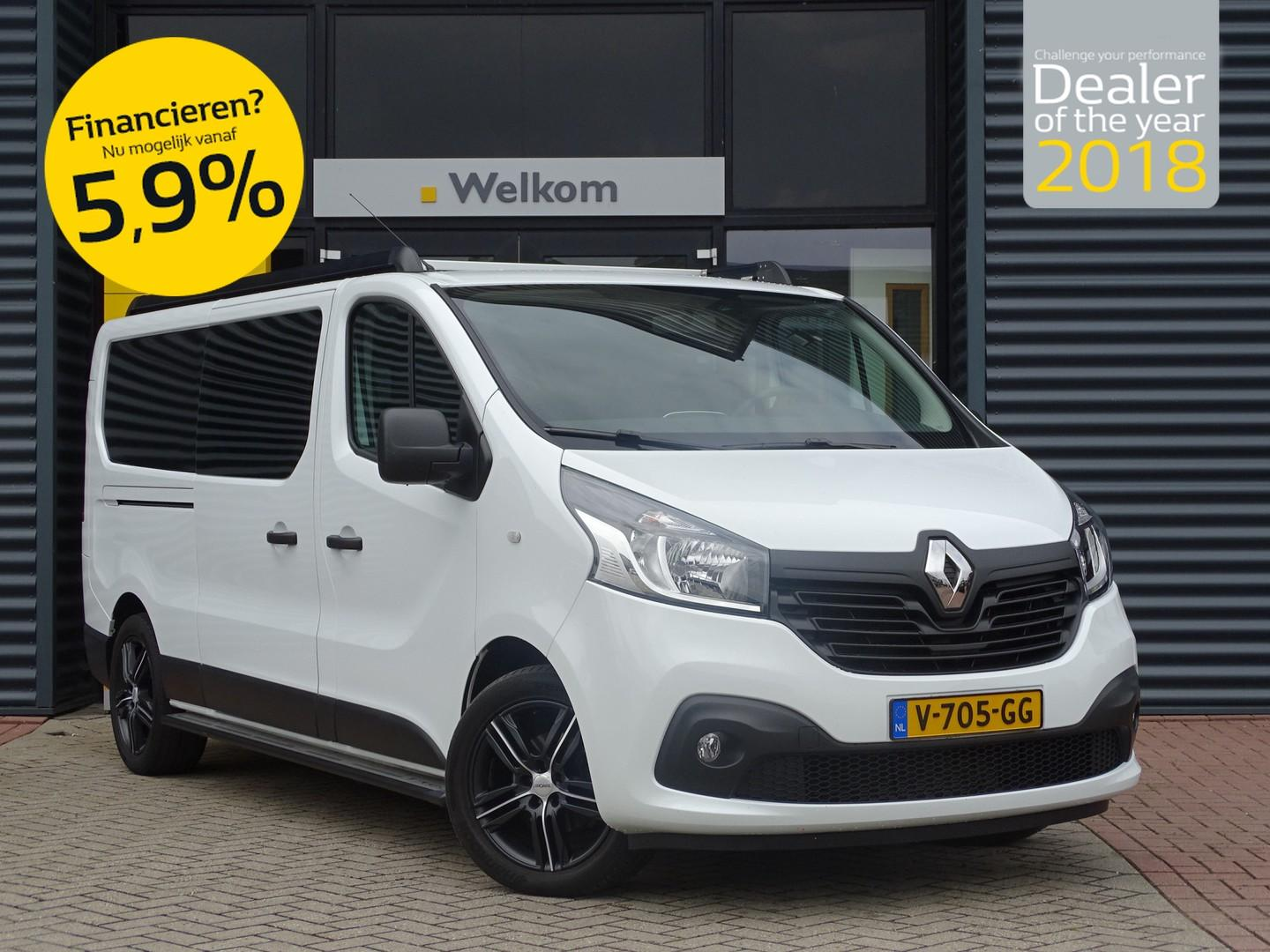 Renault Trafic 1.6 dci 125pk l2h1 dubbele cabine comfort