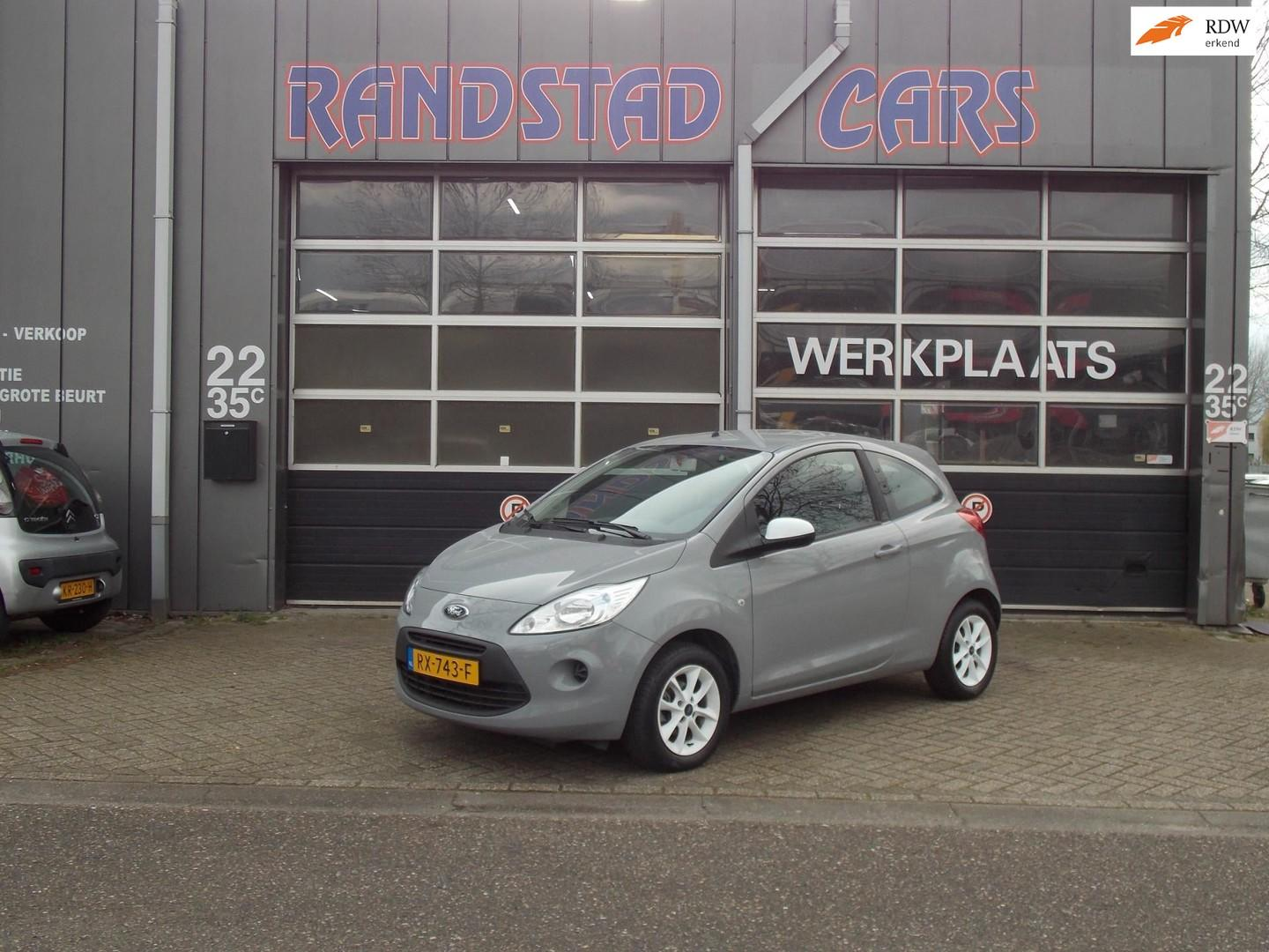 Ford Ka 1.2 limited start/stop airco elek pakket stoelverwarming 2016bj garantie