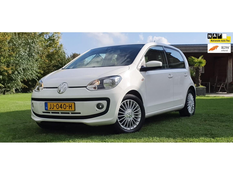 Volkswagen Up! 1.0 high up! bluemotion navigatie cruisecontrol lm velgen parkeersensoren