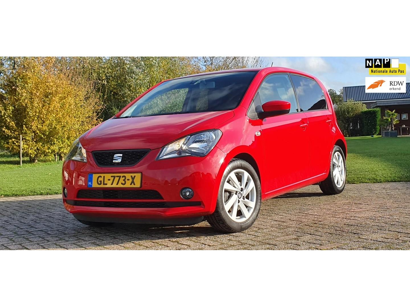 Seat Mii 1.0 sport connect airco 5 drs cruise control parkeersensoren