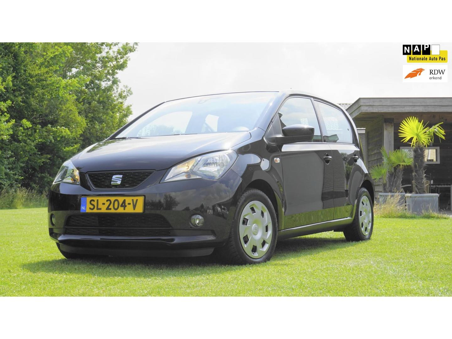Seat Mii 1.0 style intense airco 5 drs telefoon blue tooth